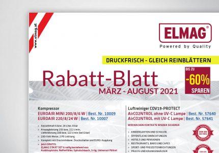 Rabatt-Aktion mit ELMAG