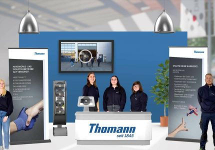 Virtueller Messestand Thomann GmbH