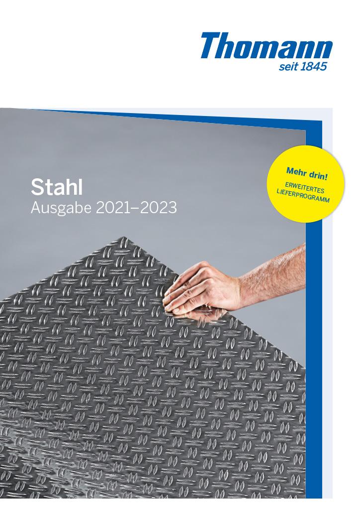 Stahlkatalog von Thomann GmbH