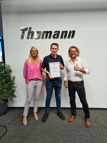 Neuer geprüfter PSA-Fachberater bei Thomann im Team